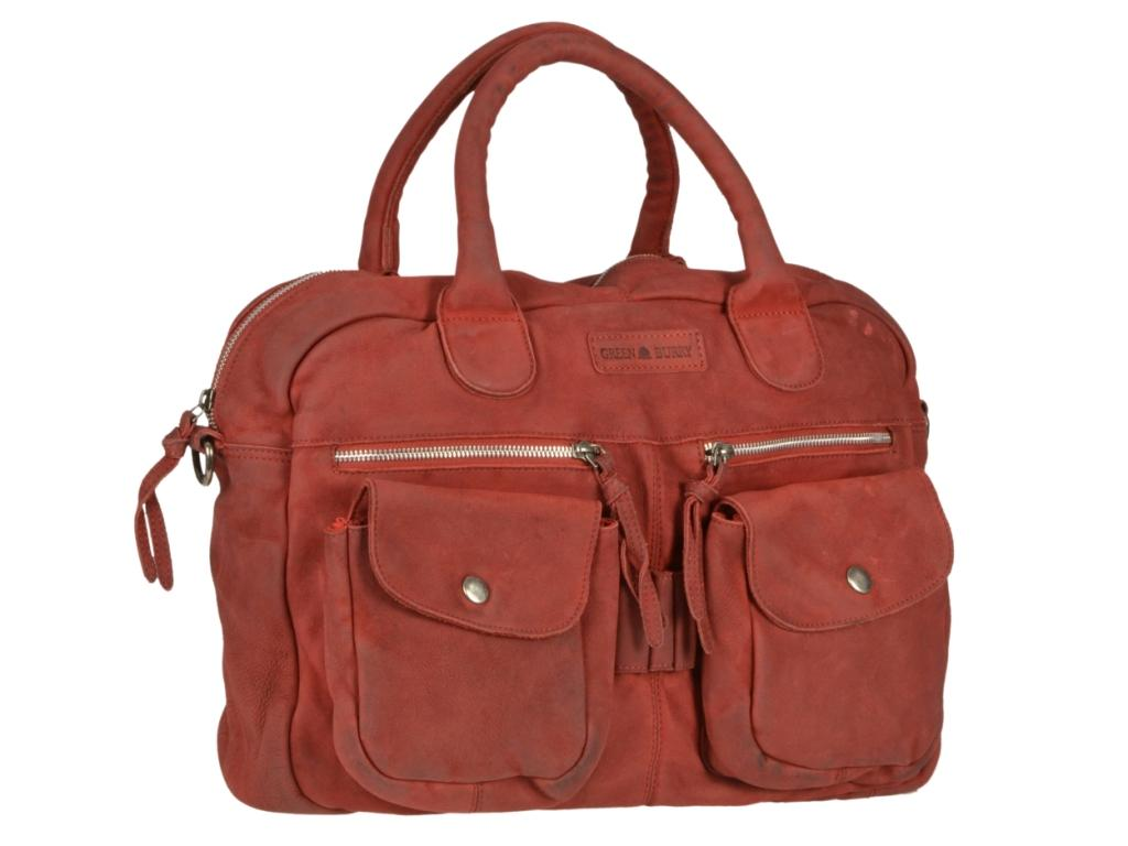 Greenburry Ledertasche aus der Drum Washed Serie