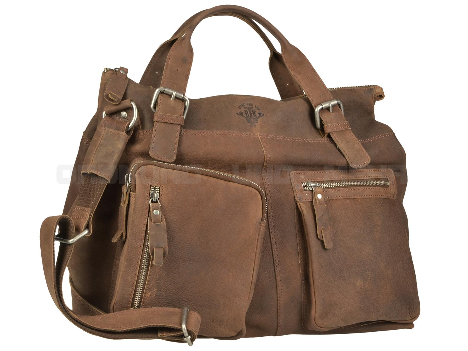 Greenburry Ledertasche Big Foot 2053-24