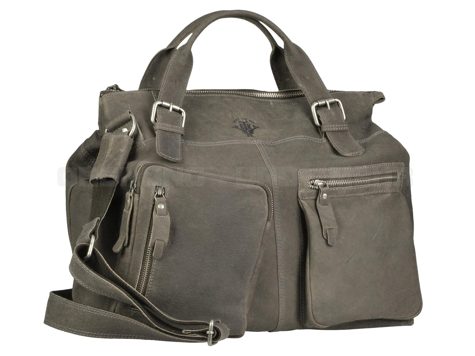 Greenburry Ledertasche Big Foot 2053-29